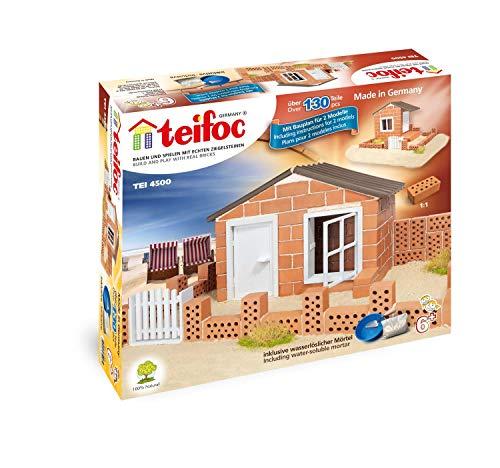 Teifoc 2042822 4500 - Strandhuis - Bouwen met echte Bakstenen & Cement