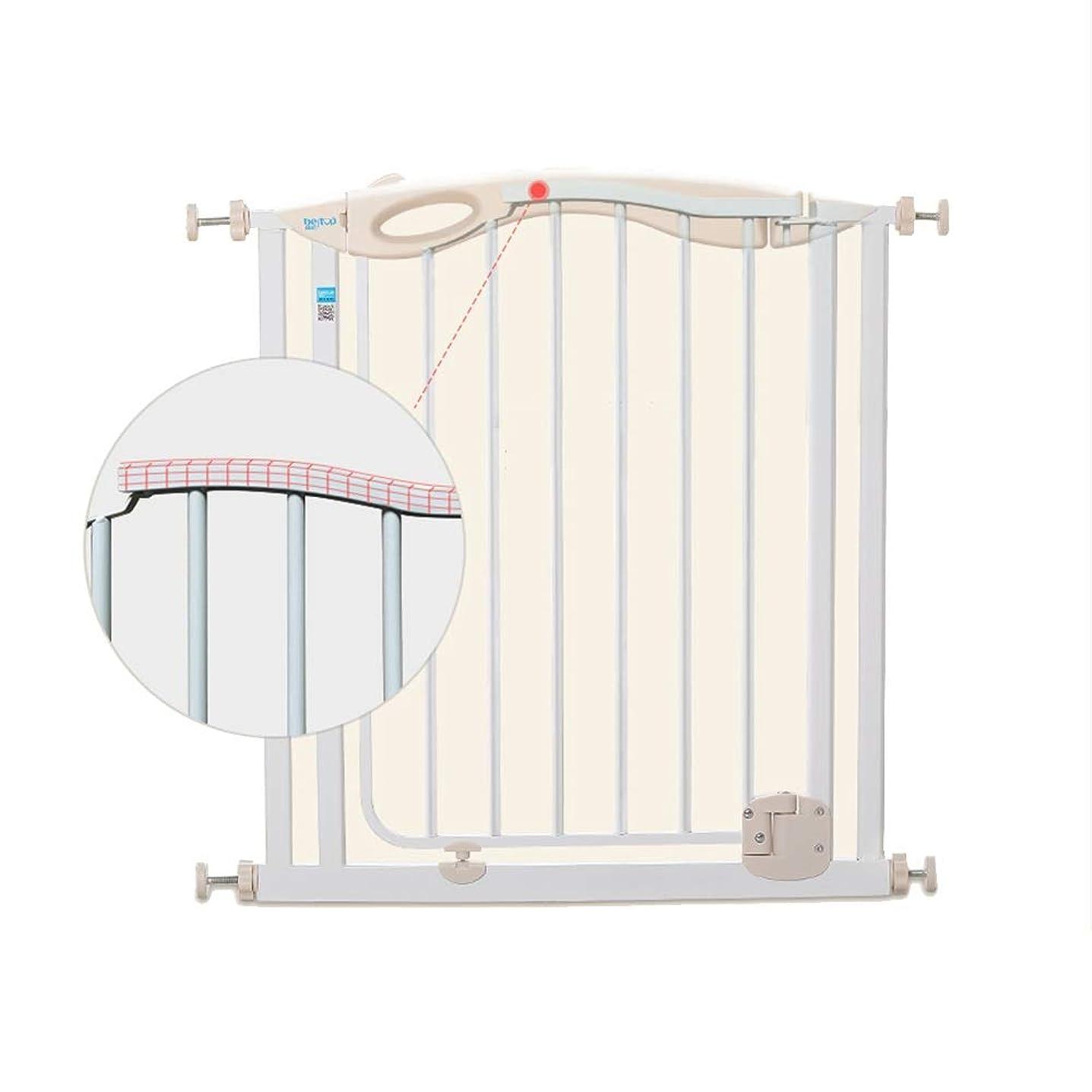 なぜなら中央段階Xyanzi-圧力フィット安全扉 赤ん坊の塀、子供の安全ドアの赤ん坊の塀ペットドアバー30-33の圧力台紙が付いている金属の安全門を拡張する