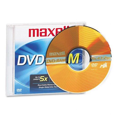 MAX636082 - Maxell Rewritable DVD-RAM Disc