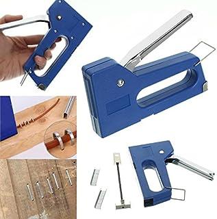 TOOGOO Grapadora de clavos mini grapas Kit de maquina de