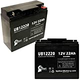 2x Pack - Replacement for Bladez Electric Scooter: TravelMate Battery - Compatible UB12220 Universal Sealed...