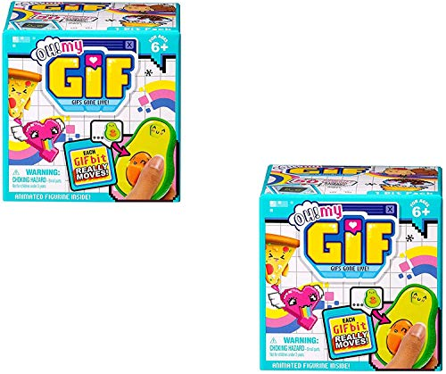 Moose OH My GIF Blind Mystery BIT Pack GIFS Gone Live Figura animada paquete de...