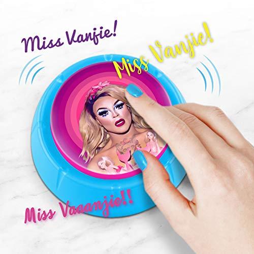 Bubblegum Stuff - Miss Vanjie Sound Button | Celebrity Catchphrase Desktop Sound Machine | Funny Repeatable 7-Second Sound Bite Gadget