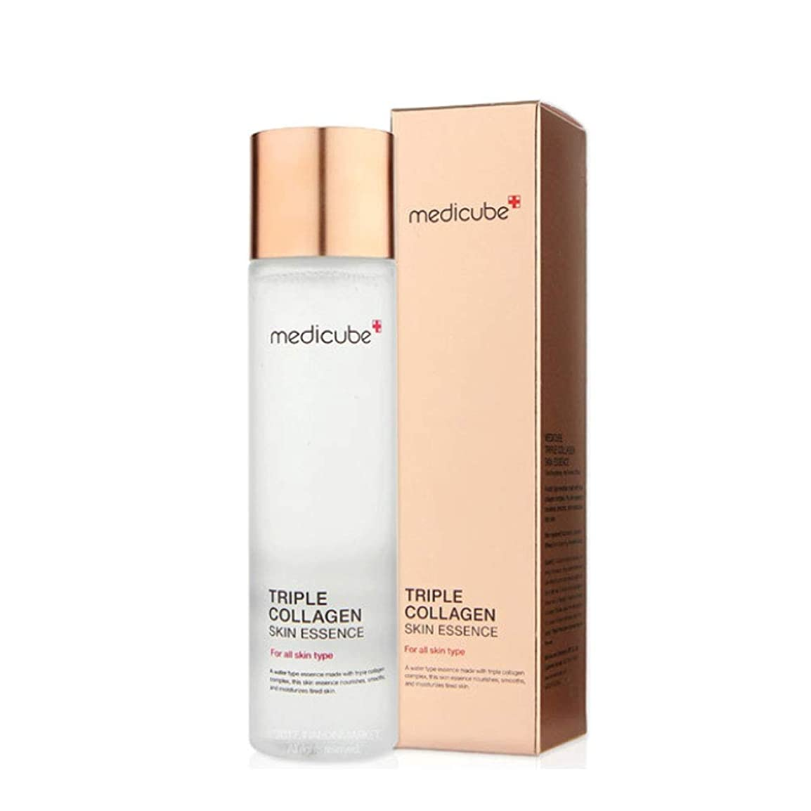 肥沃なもし喜びメディキューブトリプルコラーゲンスキンエッセンス140ml 韓国コスメ、Medicube Triple Collagen Skin Essence 140ml Korean Cosmetics [並行輸入品]