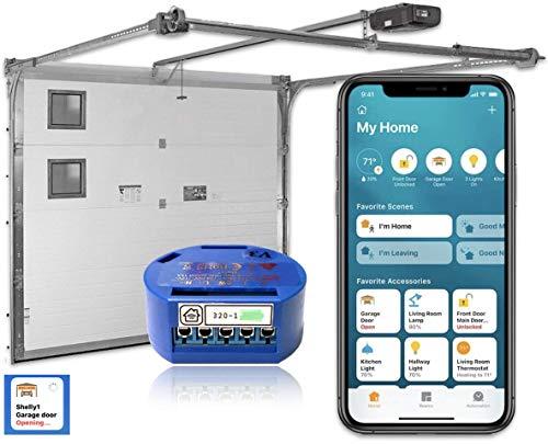 Shelly 1 - para control de puertas de garaje con firmware modificado para la compatibilidad con Apple Homekit