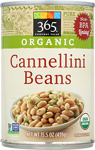 365 Everyday Value, Organic Cannellini Beans, 15 oz