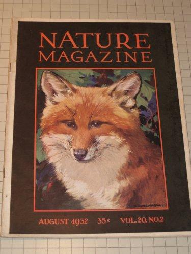 1932 Nature Magazine - Fox Cover - Blacktail &...