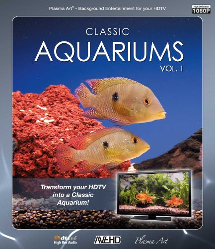 Plasma Art - Classic Aquariums (Volume 1) [Blu-ray] [UK Import]