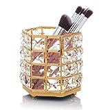 ZWOOS - Organizador de brochas de Maquillaje,Cristal Cosmético Almacenamiento Organizador para...