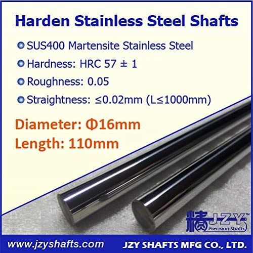 Ochoos Dia 16mm Outlet ☆ Free Shipping L110mm 3pcs lot 3D Surface Shaft Hardened Linear New products world's highest quality popular