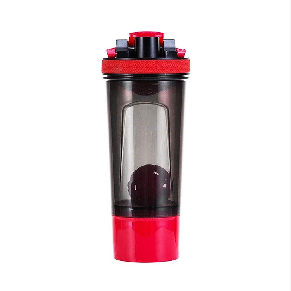 SevenAndEight プロテインシェイカー シェーカーボトル タンパク質粉末シェーカーカップ フィットネス用 プラスチック 目盛り ジム ダイエット スポーツ