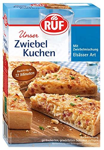 RUF Elsässer Zwiebel Kuchen Backmischung, 7er Pack (7 x 300 g Packung)