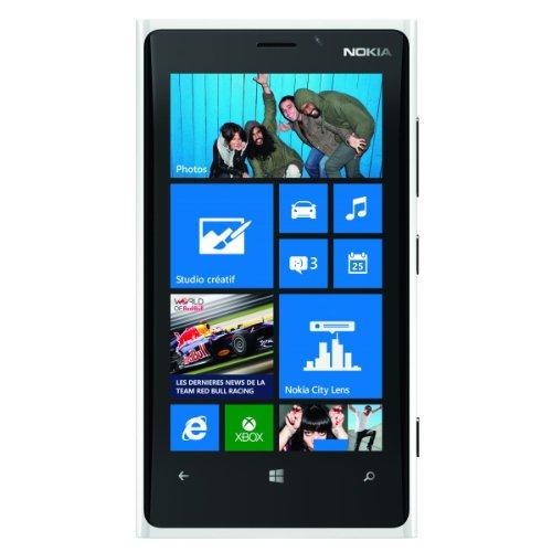 Nokia Lumia 920 32GB Unlocked GSM 4G LTE Windows Smartphone - White - AT&T - No Warranty