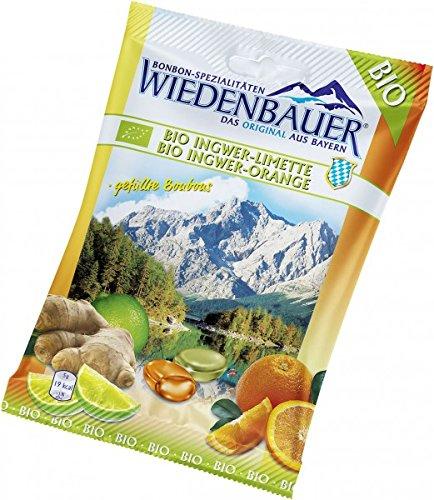 Bio4you Ingwer-Limetten- & Ingwer-Orangen-Bonbons (75 g) - Bio