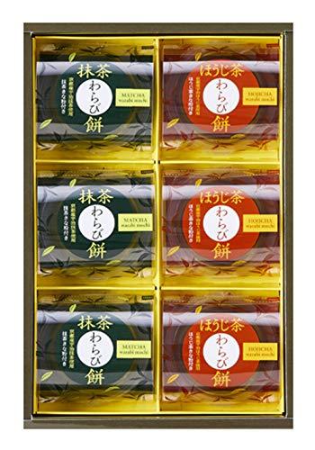 中島大祥堂 宇治茶わらび餅-抹茶とほうじ茶-6号