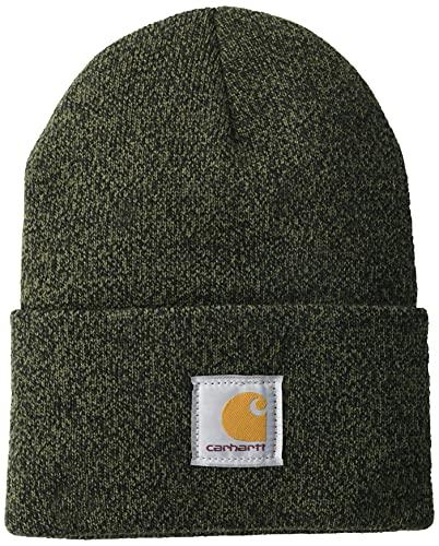 Carhartt Workwear Beanie Mütze Watch Hat, Arbeitsmütze, Farbe: Basil/Black Marl