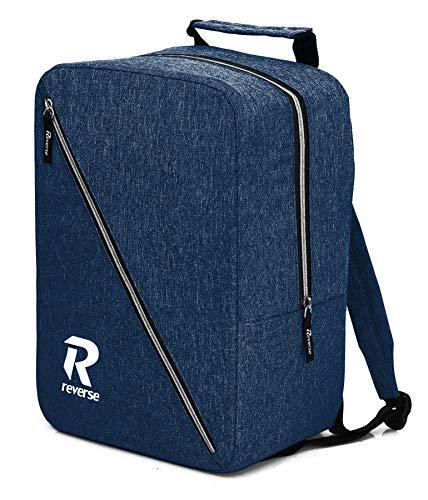 WIZZAIR 40x30x20 Handgepäck Rucksack Cabin Bag Free Handbag Luggage Tasche (Dark Blue)