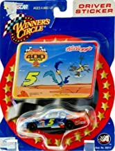2002 - Action - Winner's Circle - NASCAR - #5 Terry Labonte / Kellogg's & Looney Tunes - Monte Carlo Rematch 400 - Driver Sticker Series - Road Runner & Coyote - Out of Production - New - Rare - Limited Edition - Collectible by Winners Circle