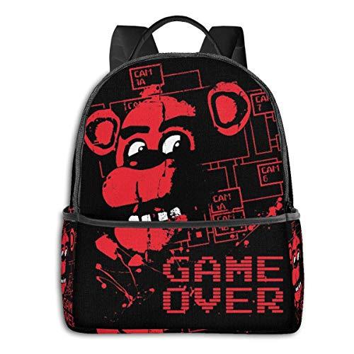 Five-Nights-at-Freddys School Travel Dual Purpose Large-Capacity Schoolbag Backpack