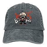 SUNERLADY Bakugo Kacchan My Hero Academia Cap Adult Trucker Hat Adjustable Hip Hop Hat