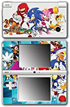 Sonic Boom Hedgehog Tails Amy Rose Knuckles Eggman Shattered Crystal Fire & Ice Orbot Cubot Shadow Video Game Vinyl Decal Skin Sticker Cover for Nintendo DSi System
