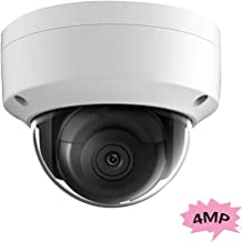 4MP Outdoor Dome Security Camera OEM DS-2CD2143G0-I 2.8mm, POE IP Network Turret Camera HS-ED04G0-I 2.8mm SD Card Slot, H.265+, EXIR 98ft Night Vision