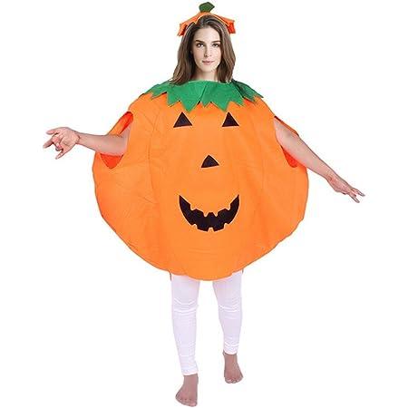 con cappello Costume da zucca per Halloween da donna per adulti Lifreer