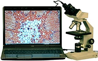 AmScope 2000Xの獣医ハイパワー双眼顕微鏡+ 1.3MPのUSBカメラ