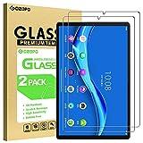 GOZOPO Protector de Pantalla para Lenovo Tab M10 FHD Plus 2ª Gen y Lenovo Tab M10 FHD Plus Protector de pantalla Película de Vidrio Templado, 2-Pack