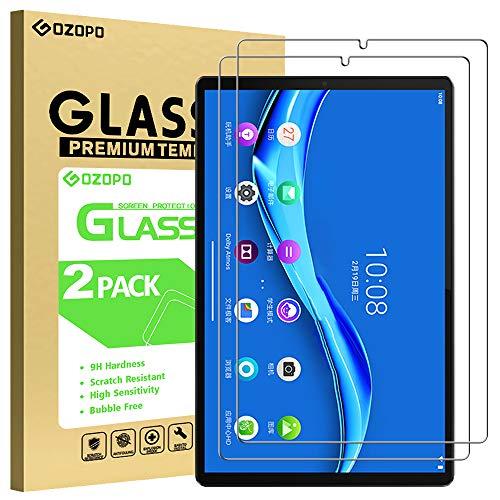 [2-Pack] GOZOPO Screen Protector for Lenovo Tab M10 FHD Plus 2nd Gen and Lenovo Tab M10 FHD Plus (10.3 inch) Screen Protector Tempered Glass Film,【NOT FOR Lenovo M10】