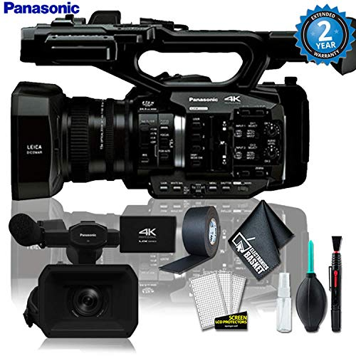 Learn More About Panasonic AG-UX90 4K/HD Industry Camcorder + Cleaning Kit w/ (2 YR Warranty)