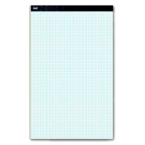 """Mr. Pen- Engineering Paper Pad, Graph Paper, 5x5 (5 Squares per inch), 17""""x11"""", 22 Sheets, Engineering Pad, Grid Paper, Computation Pads, Drafting Paper, Squared Paper, Blueprint Paper, Writing Paper"""