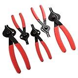 2 Piece ATE Pro USA 93231 Plier and Hose Clamp Circlip Set