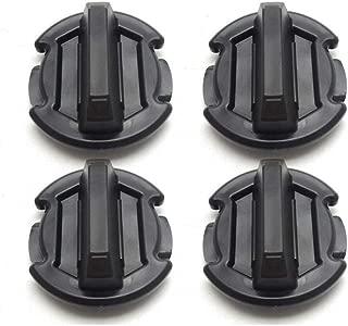 BUNKER INDUST 4 Pcs Twist Floor Drain Plug Trap Seal for 2014/2015/2016/2017/2018/2019 Polaris RZR 1000 900 XP Turbo General 8414694