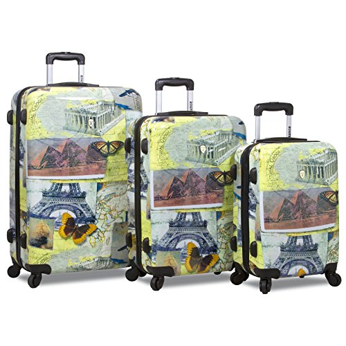 Rolite Mosaic 3-piece Hardside Spinner Luggage Set, One Size