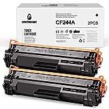 KNOWINK 244A 44A Tóner Compatible con HP CF244A 44A para HP Laserjet Pro M15 M16 Impresora HP Laserjet MFP M28 M29 (2 Negras)