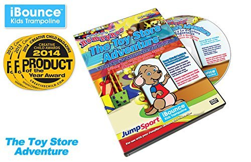 """JumpSport iBounce Kids Trampoline """"The Toy Store Adventure"""" Episode-4 DVD"""