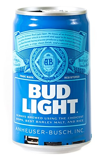 Bud Light Bluetooth Can Speaker- Wireless Audio Sound Stereo Beer Can, Bluetooth Bud Light music player 3