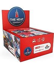 THE HEAT COMPANY voetwarmer – 5, 15 of 40 paar - EXTRA WARM - zelfklevend - voetenwarmer - 8 uur warme voeten - klaar voor gebruik - lucht geactiveerd - puur natuurlijk - voor alle maten