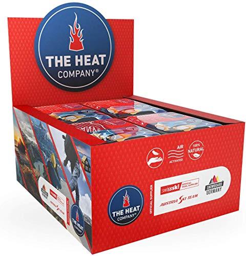 THE HEAT COMPANY Calentadores Pies - 40 Pares - Extra CÁLIDO - Adhesivo - 8 Horas de pies Calientes - Calor instantáneo - Activado por Aire - Puro Natural - para Todos Las Tallas