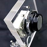 Transparent Cutaway Crastal Safety Box Lock Coded Lock For Locksmith Practice Training Skill Locksmith Supply