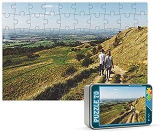 Puzzles personalizados 70 piezas con foto y texto | Máxima