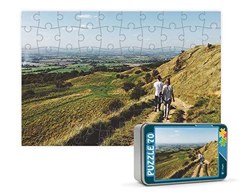 Puzzles personalizados 70 piezas foto texto