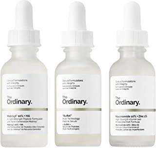 The Ordinary Anti-Aging Face Serum Set! Matrixyl, Multi-Peptide And Niacinamide! Matrixyl Anti Wrinkles Serum! Buffet Multi-Peptide Serum Target Multiple Signs Of Aging! Niacinamide With Vitamin B3!