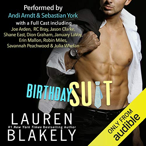 Birthday Suit Audiobook By Lauren Blakely cover art