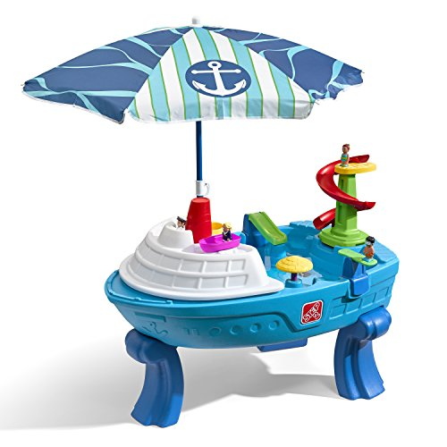 Step2 Fiesta Cruise Sand & Water Table with Umbrella | Kids...
