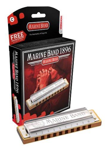 HOHNER HARMONICA 1896BX-A Marine Band, Key Of A Major