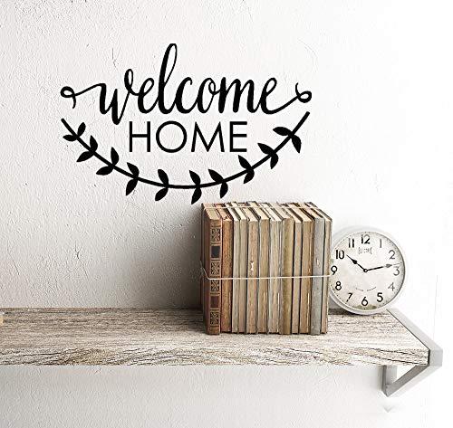 Welkom Thuis Decal Welkom Thuis Deur Decor Thuis Decor Welkom Decal Home Decal Voordeur Decal Ingang Decals Huishoudelijke Cadeaus Nieuwe 8.75