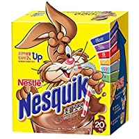 [ nestle ] ネスレ ネスクィック 鉄分入り ココア粉末飲料 20スティック ビタミンC、ビタミンB1、ビタミンD3、鉄分 Korea cosmetic ( nesquick 20 sticks )