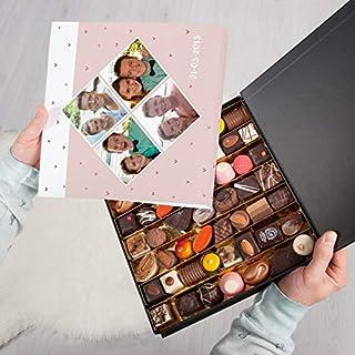 Caja de regalo de lujo con bombones - San Valentín - 49 piezas